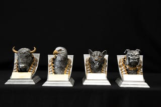 trophies mascots