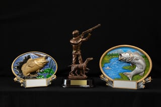 trophies outdoors